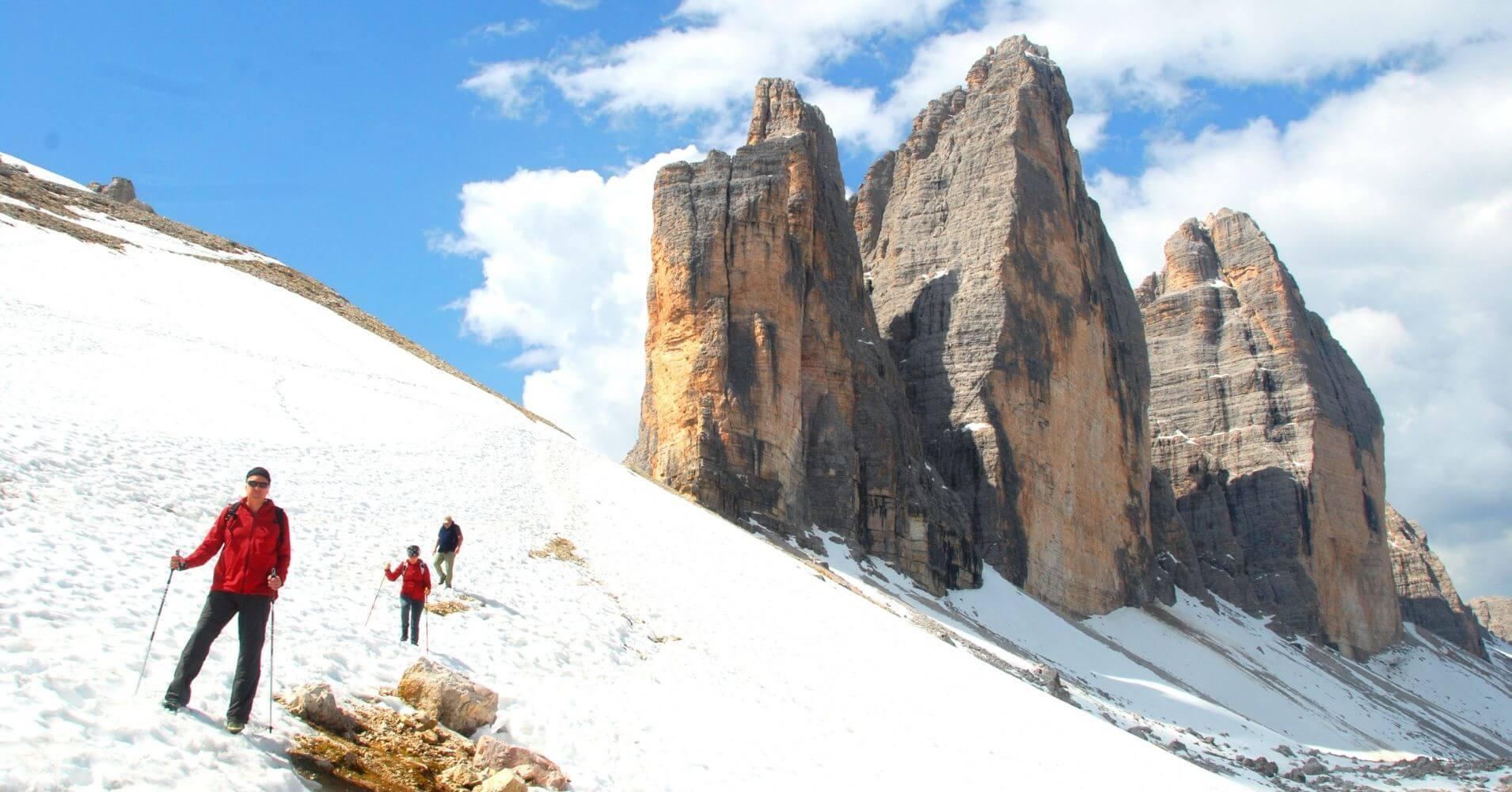 Alpes Dolomitas. Tre Cime. Belluno. Véneto. Italia.
