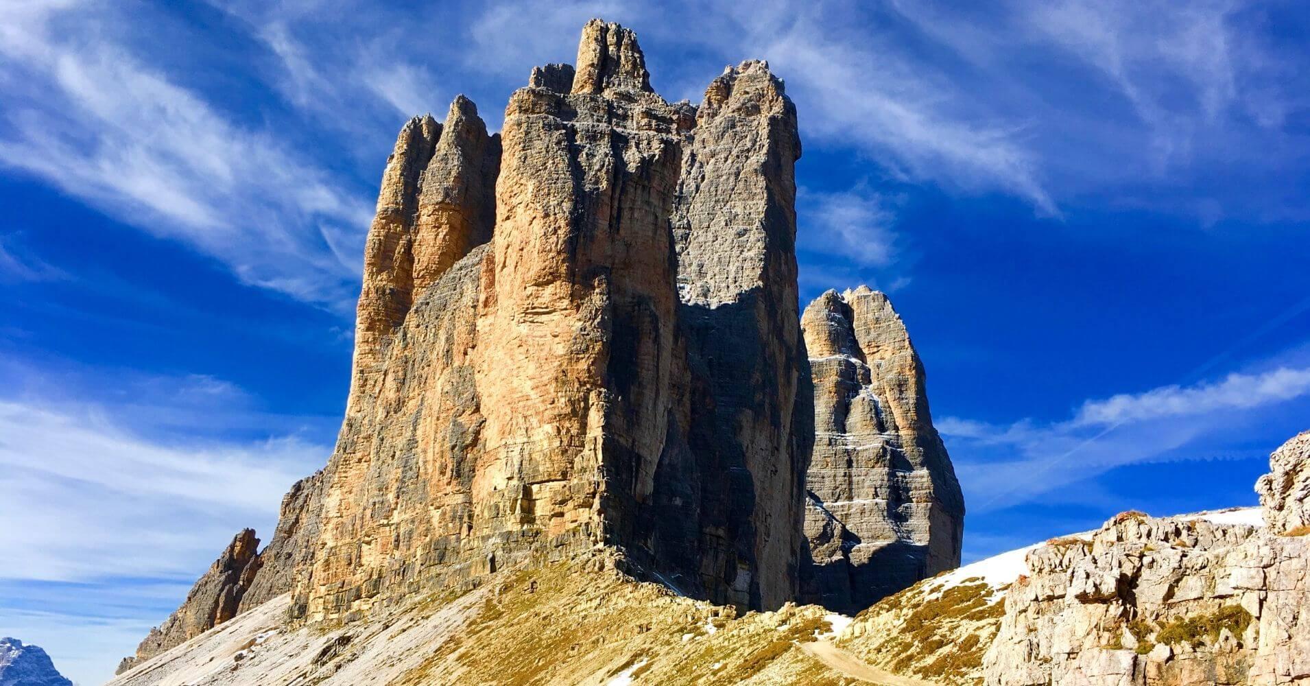 Tres Cimas di Lavaredo. Belluno, Véneto. Alpes Dolomitas, Italia.