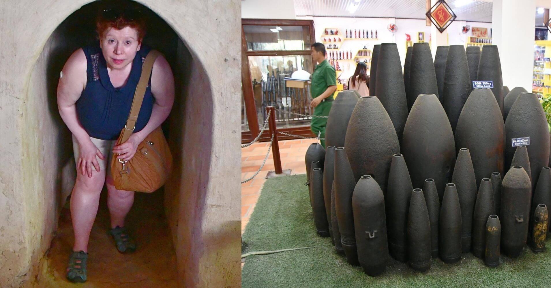 Túneles de Cuchi. Ho Chi Ming. Vietnam de Norte a Sur.