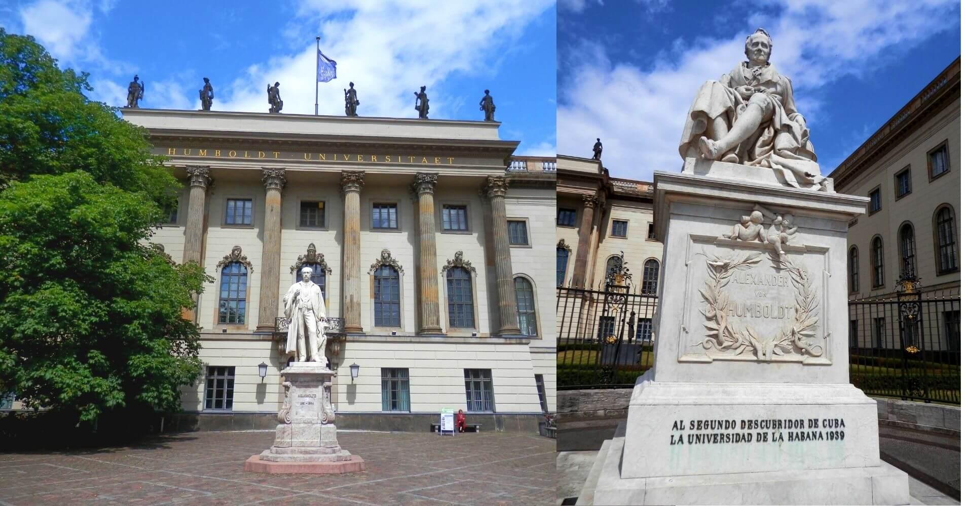 Universidad Alexander Von Humboldt, Berlín. Alemania.