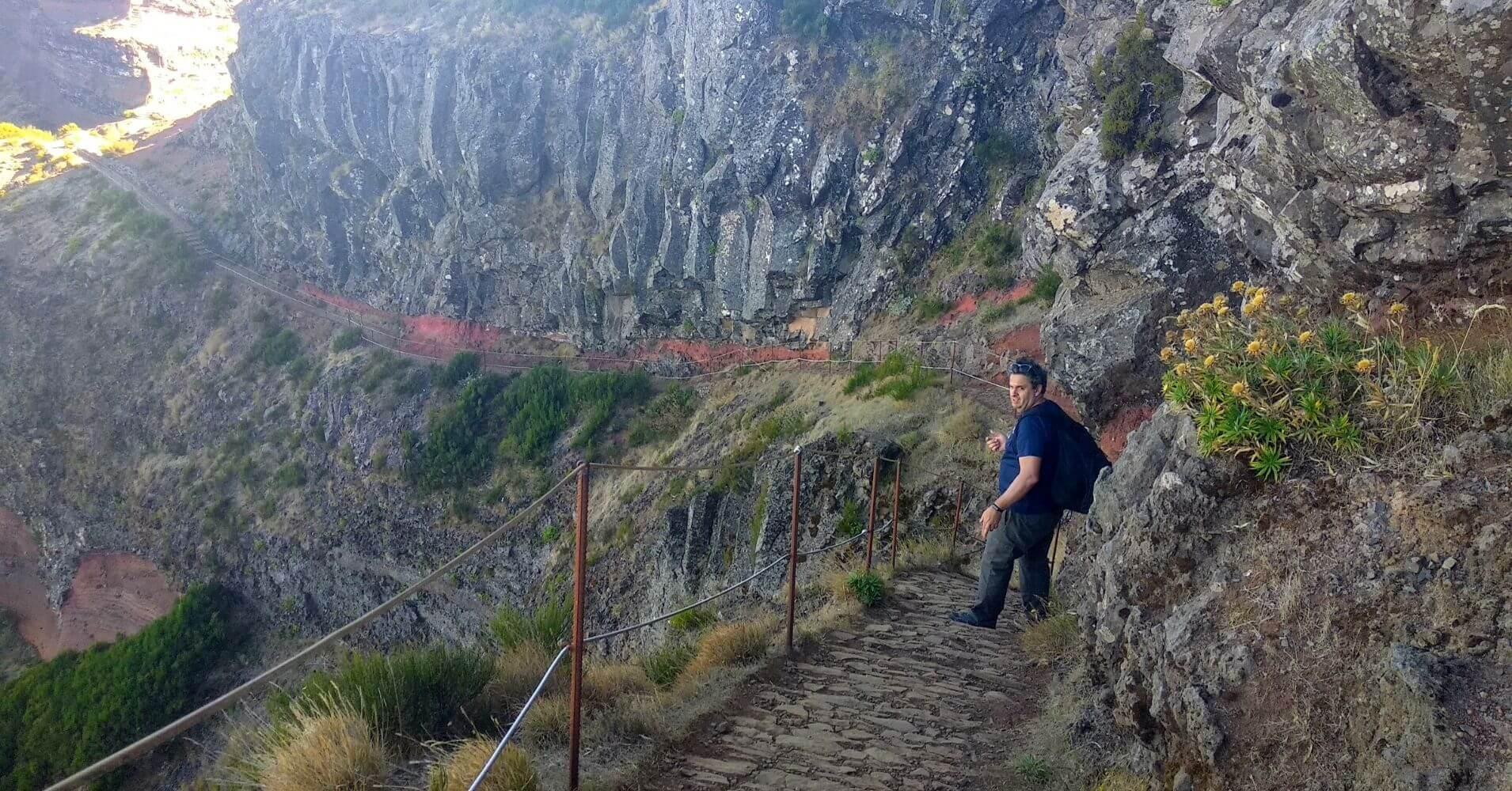 Vereda do Areeiro en Isla de Madeira. Portugal.