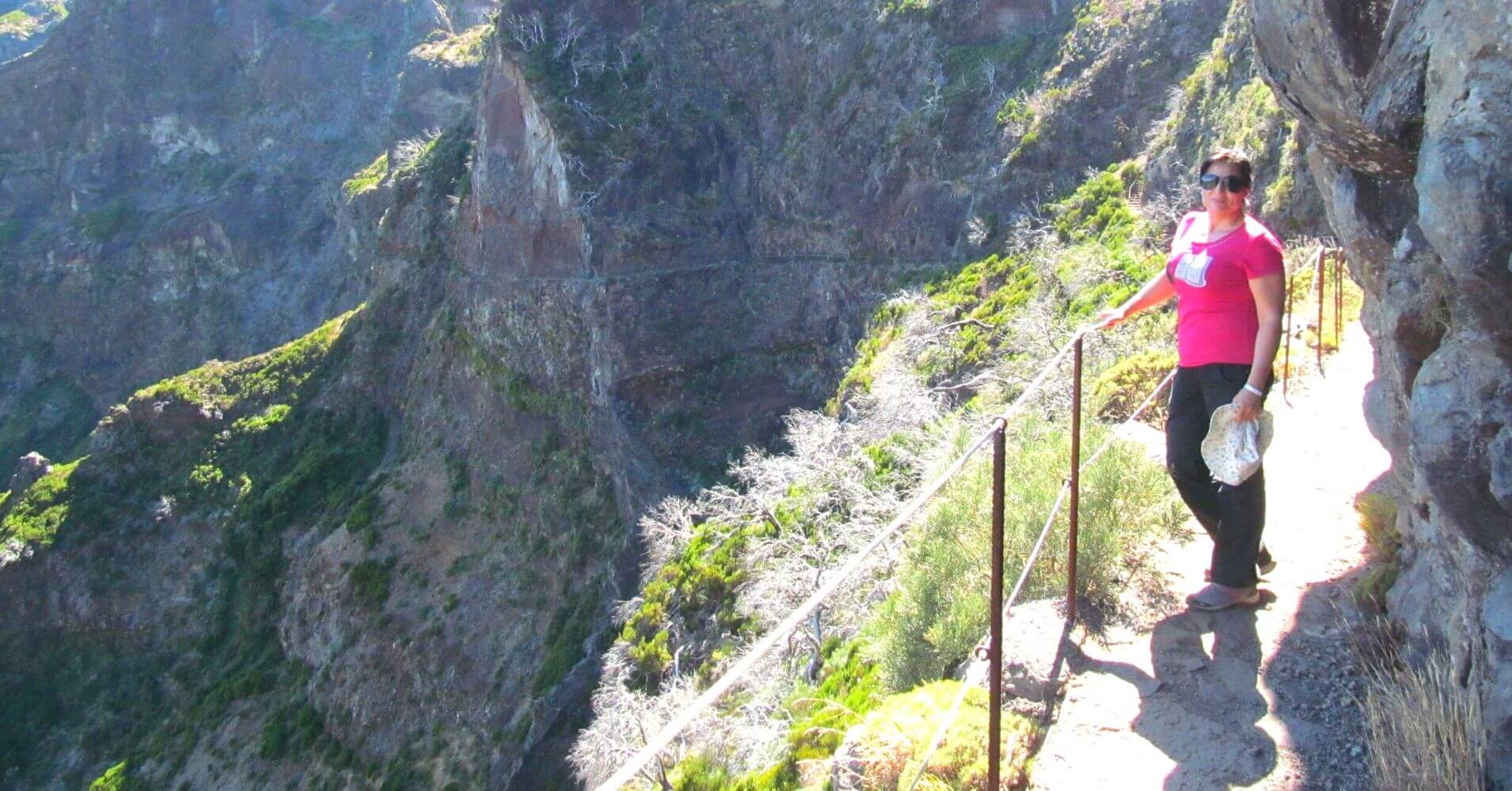 Vereda do Areeiro en la Isla de Madeira. Portugal.