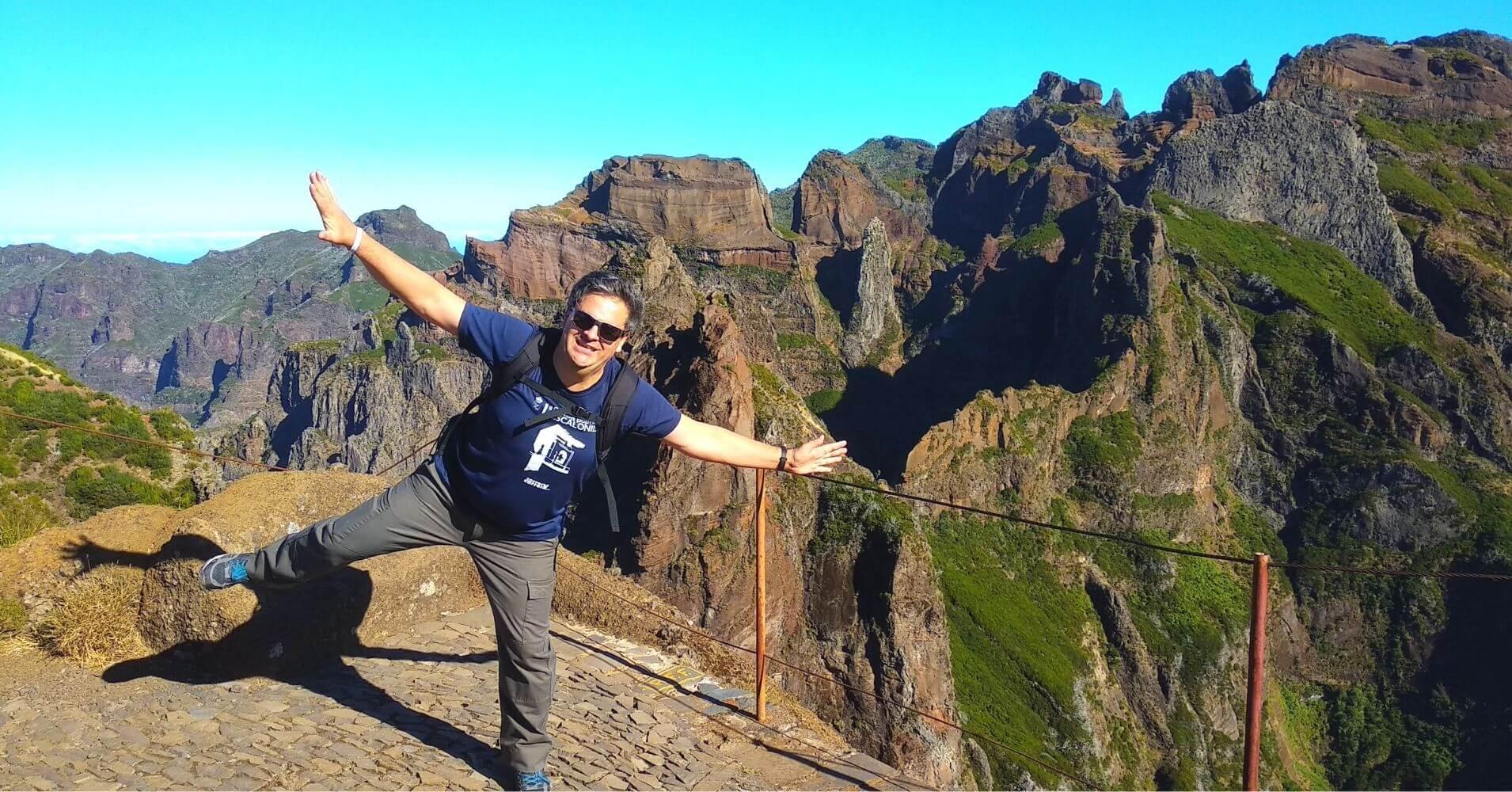 Vereda do Areeiro. Isla de Madeira en Portugal.