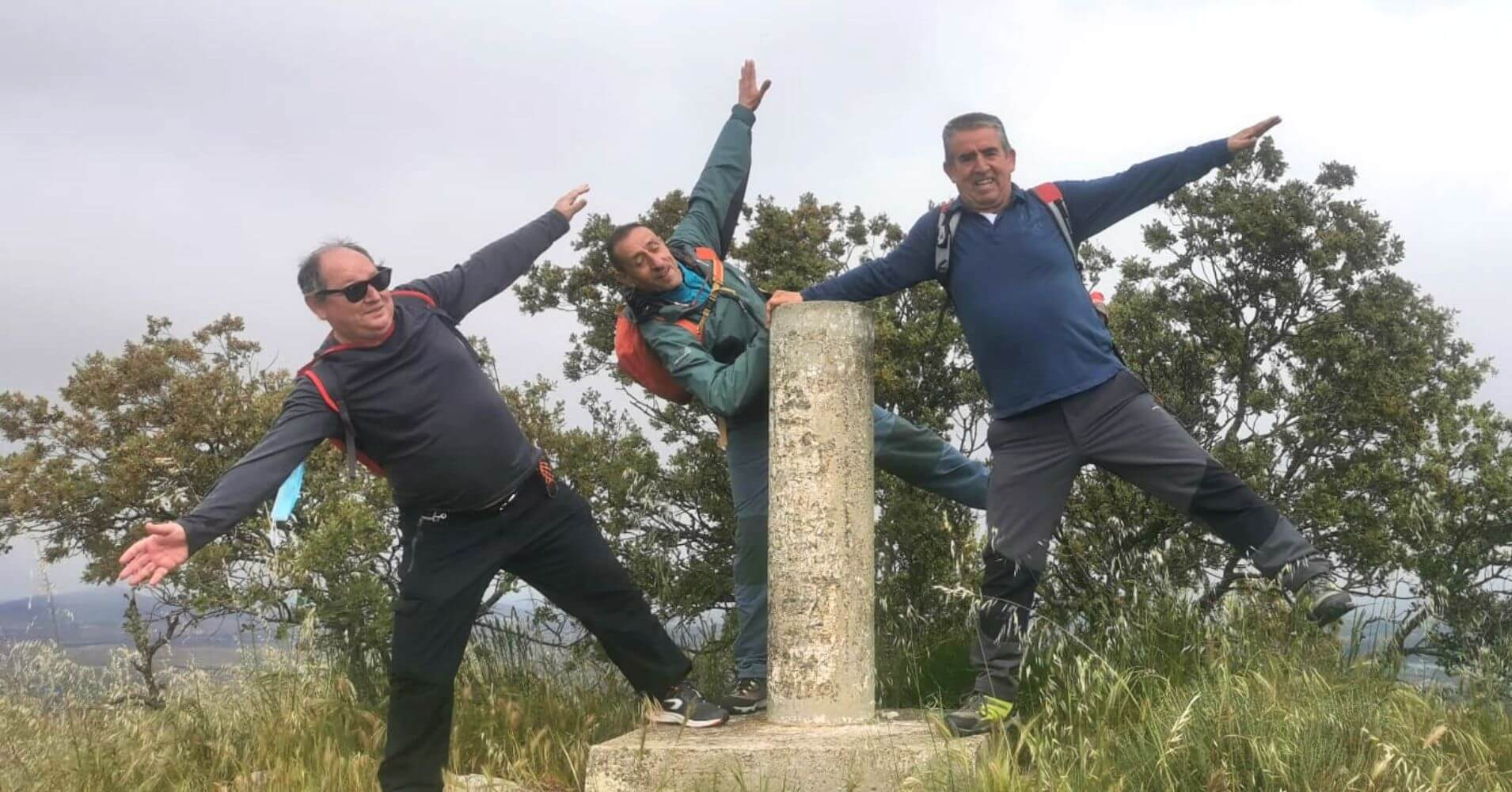 Vértice Geodésico de la Cumbre de La Sierra de Layos. Toledo, Castilla La Mancha.