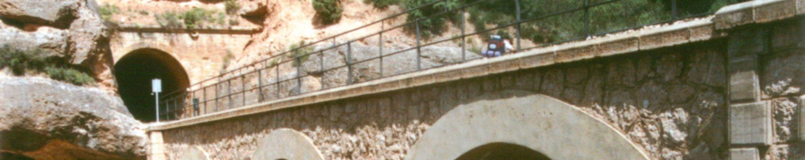 Vía Verde Terra Alta. Tarragona, Cataluña.