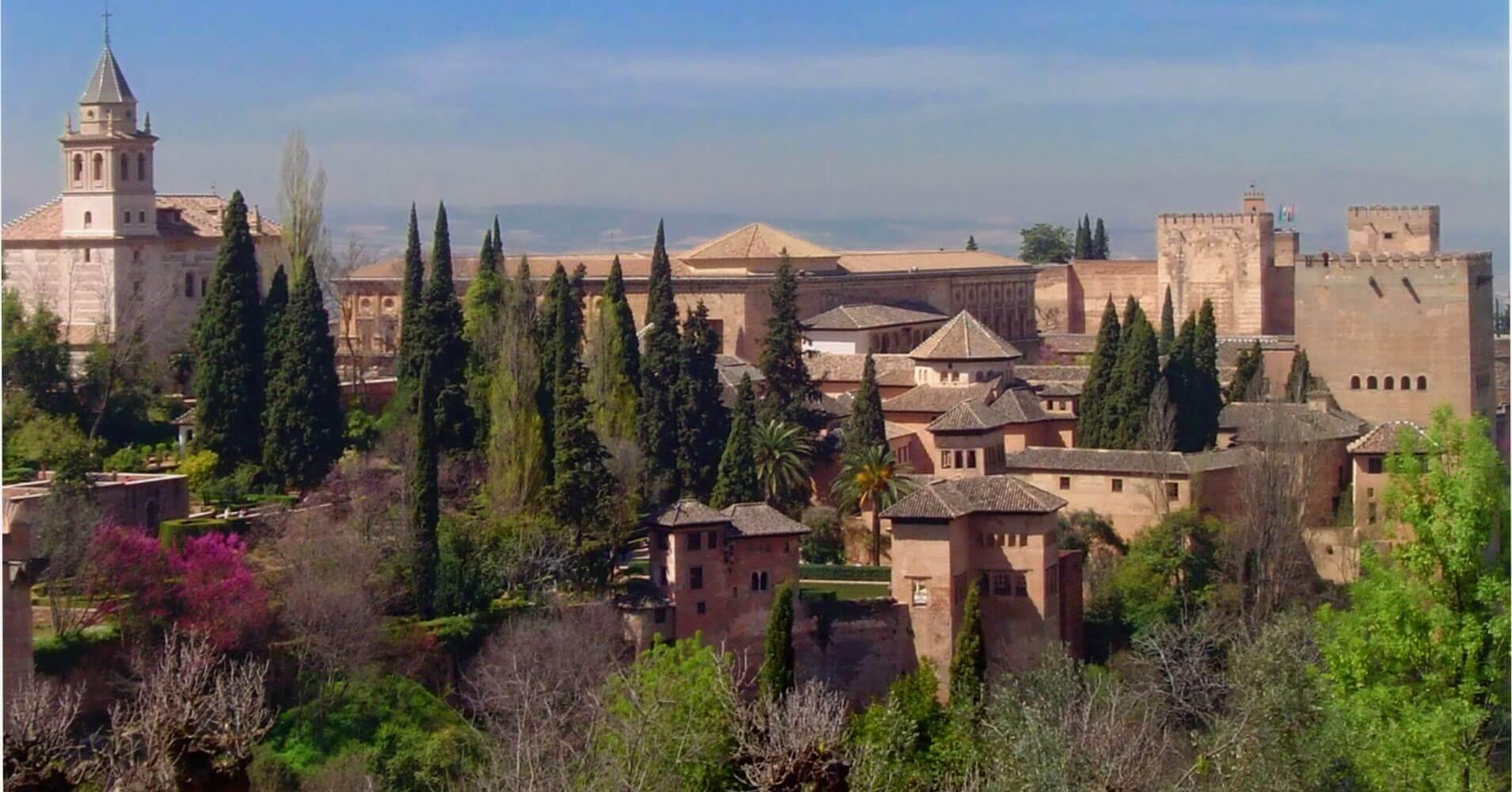Viajar a Andalucía. La Alhambra. Granada. Andalucía.