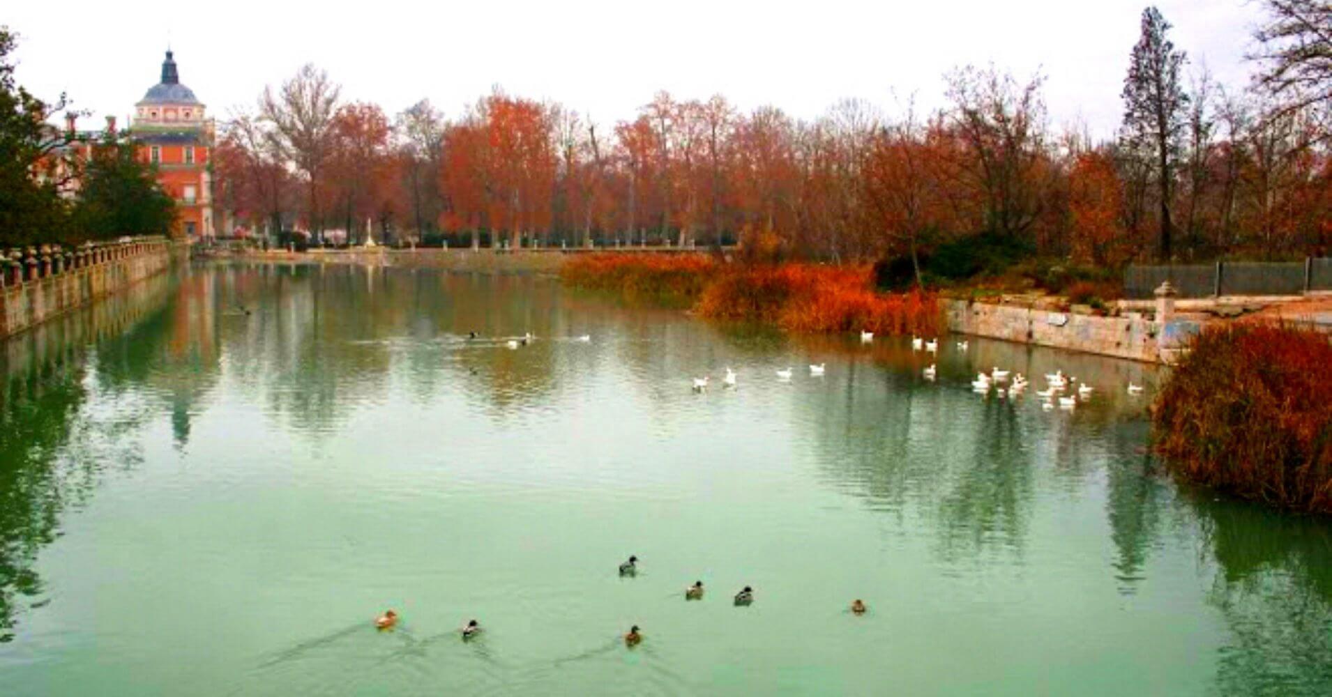 Jardines del Palacio Real de Aranjuez. Madrid.