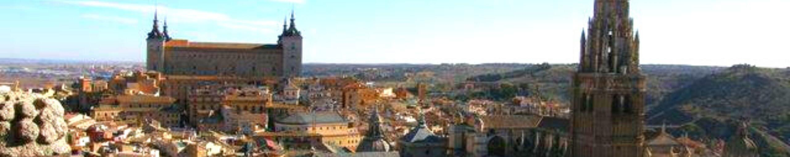 Viajar a España, Panorámica de Toledo. Castilla la Mancha.