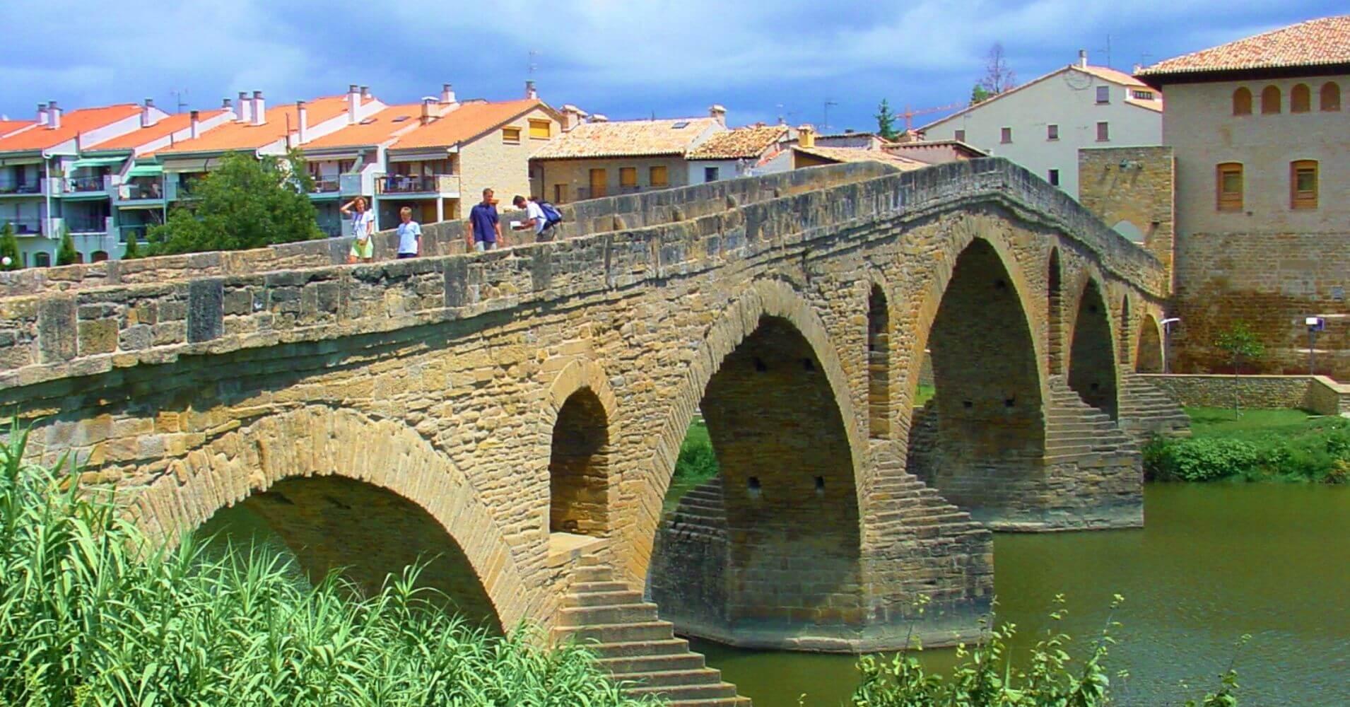 Puente la Reina. Camino de Santiago, Navarra.