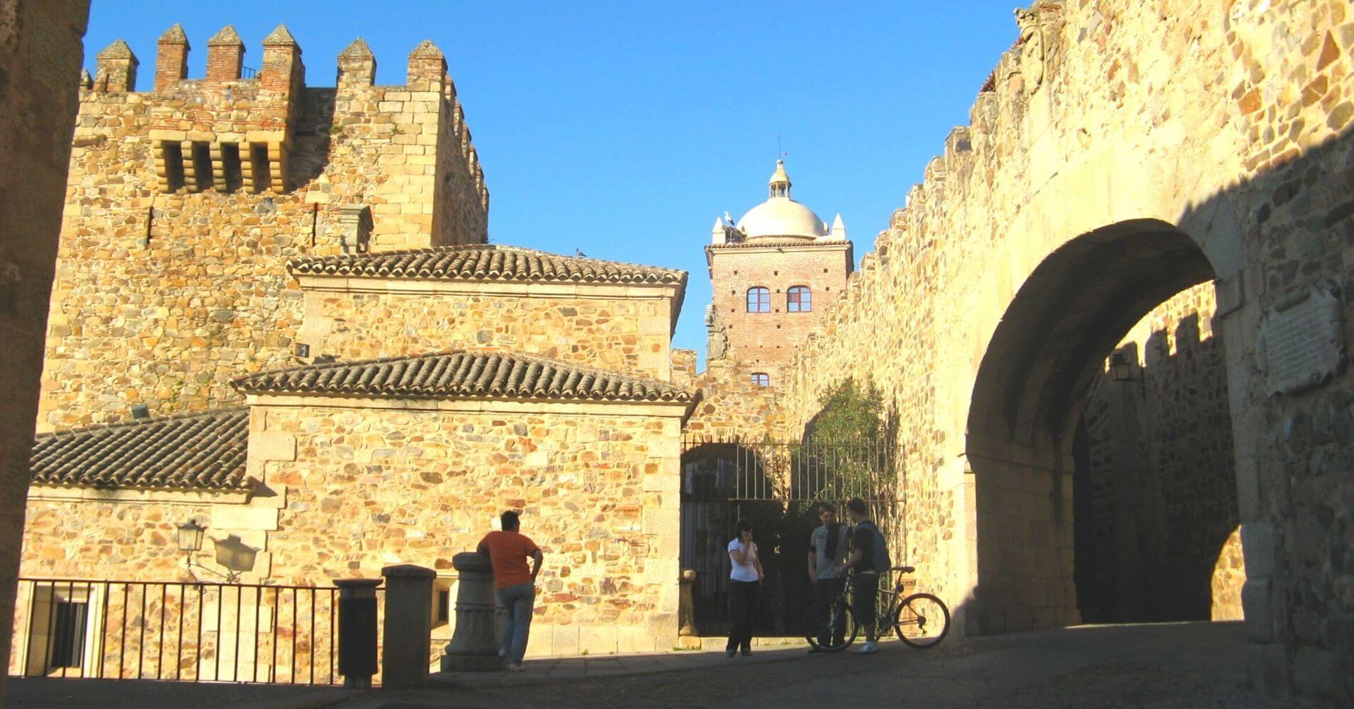 Viajar a Extremadura. Cáceres.