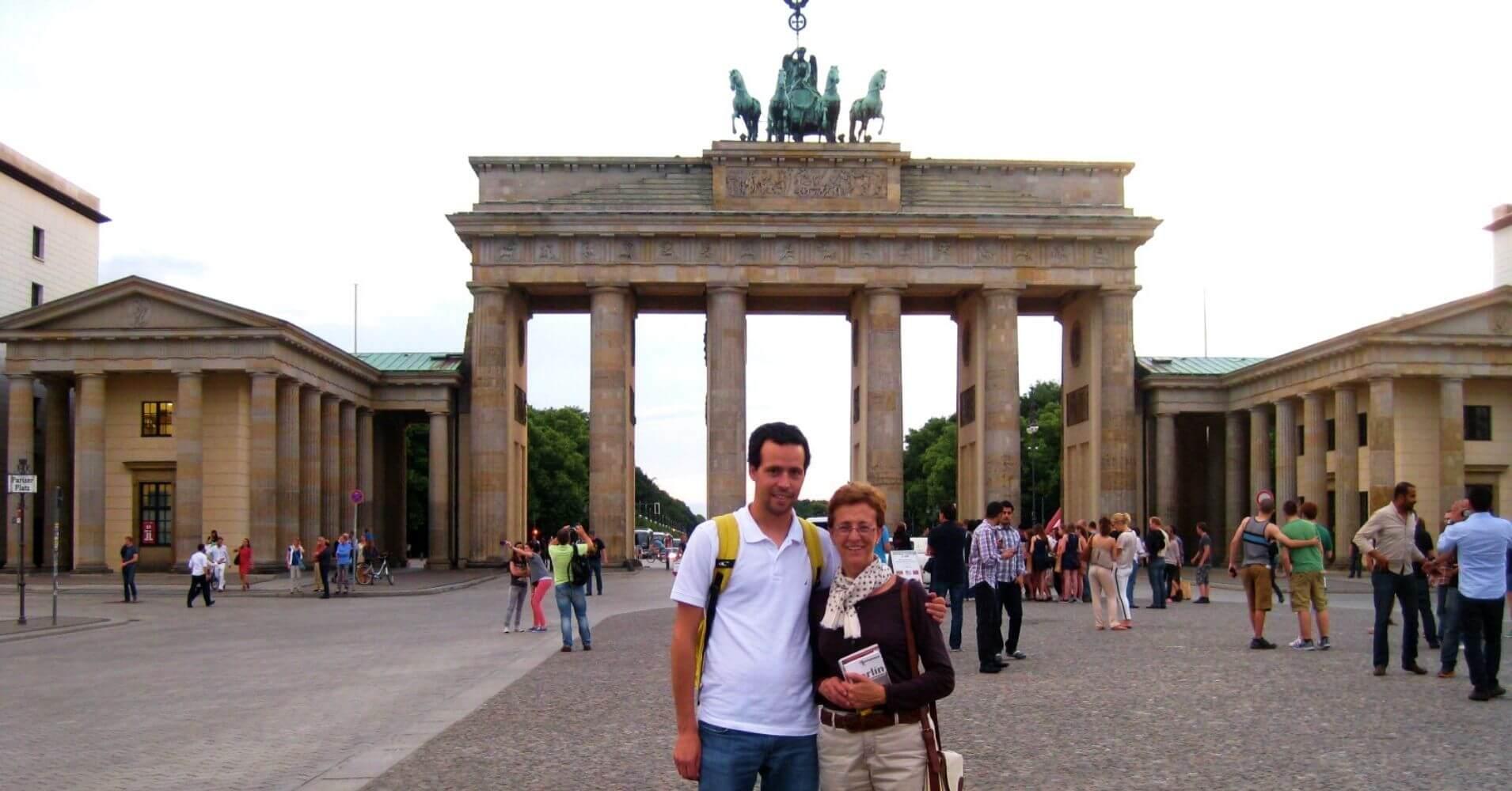 Viaje a Berlín, Puerta de Brandeburgo. Berlín. Alemania.