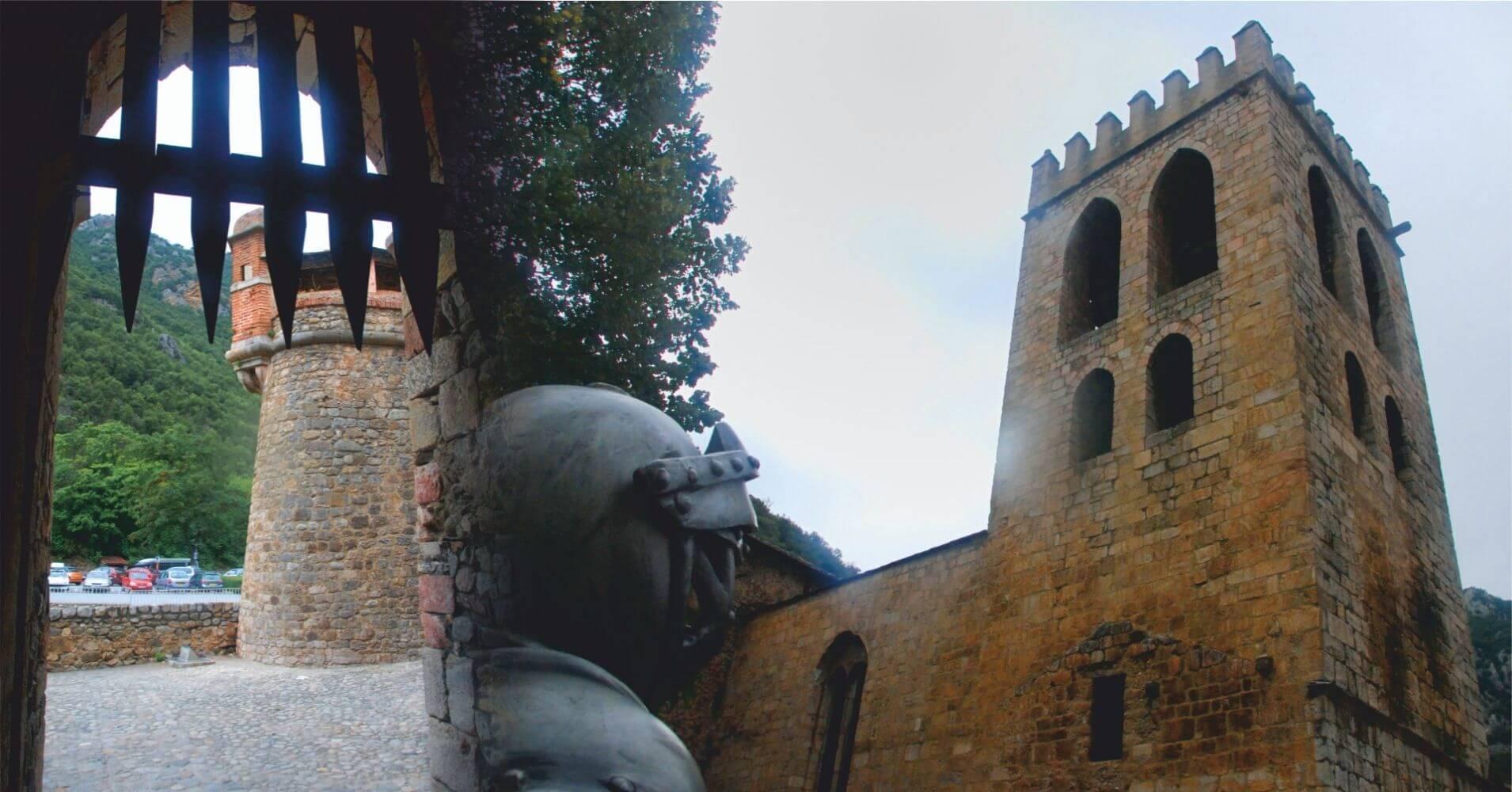Villefranche-de-Conflent, Languedoc-Rosellón. Pirineos Orientales. Occitania, Francia.