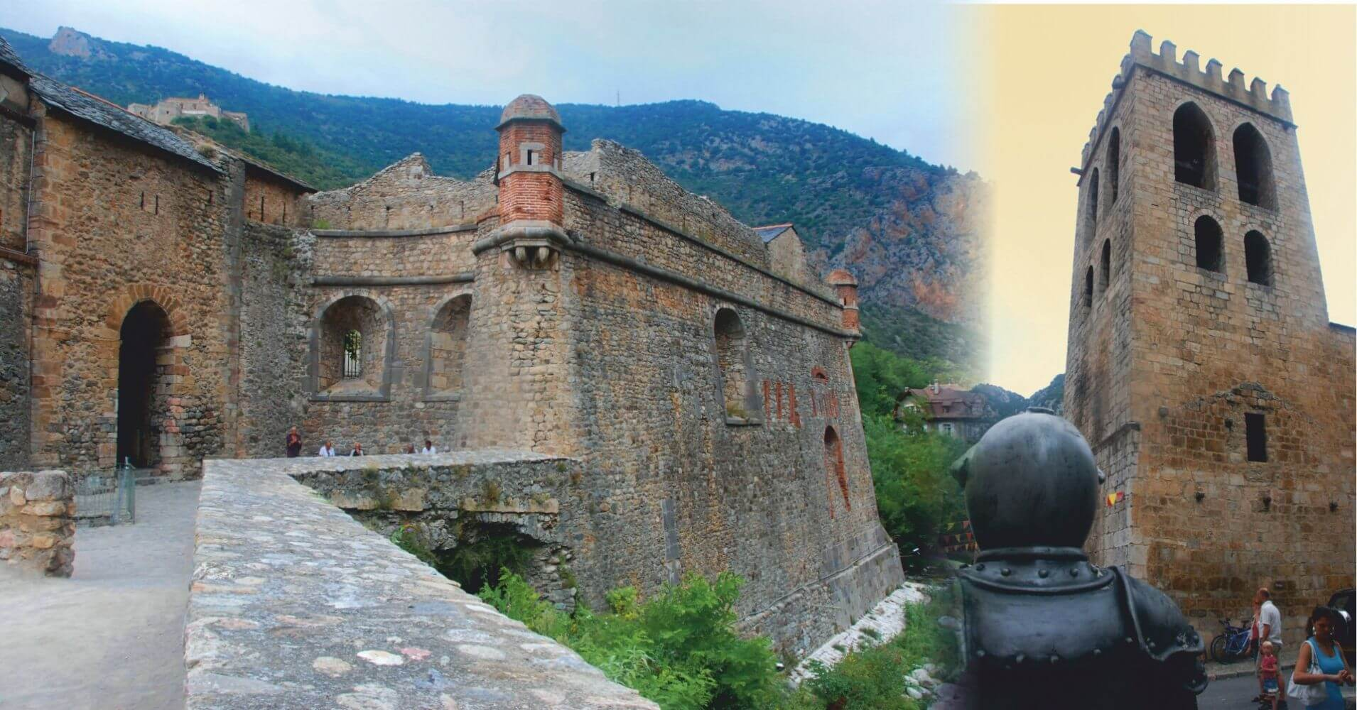 Villefranche-de-Conflent. Languedoc-Rosellón. Pirineos Orientales, Occitania. Francia.