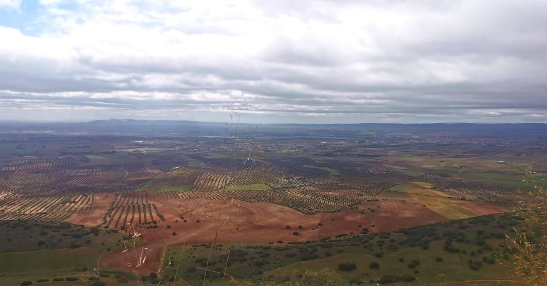Vistas desde la Sierra de Layos. Toledo, Castilla La Mancha.