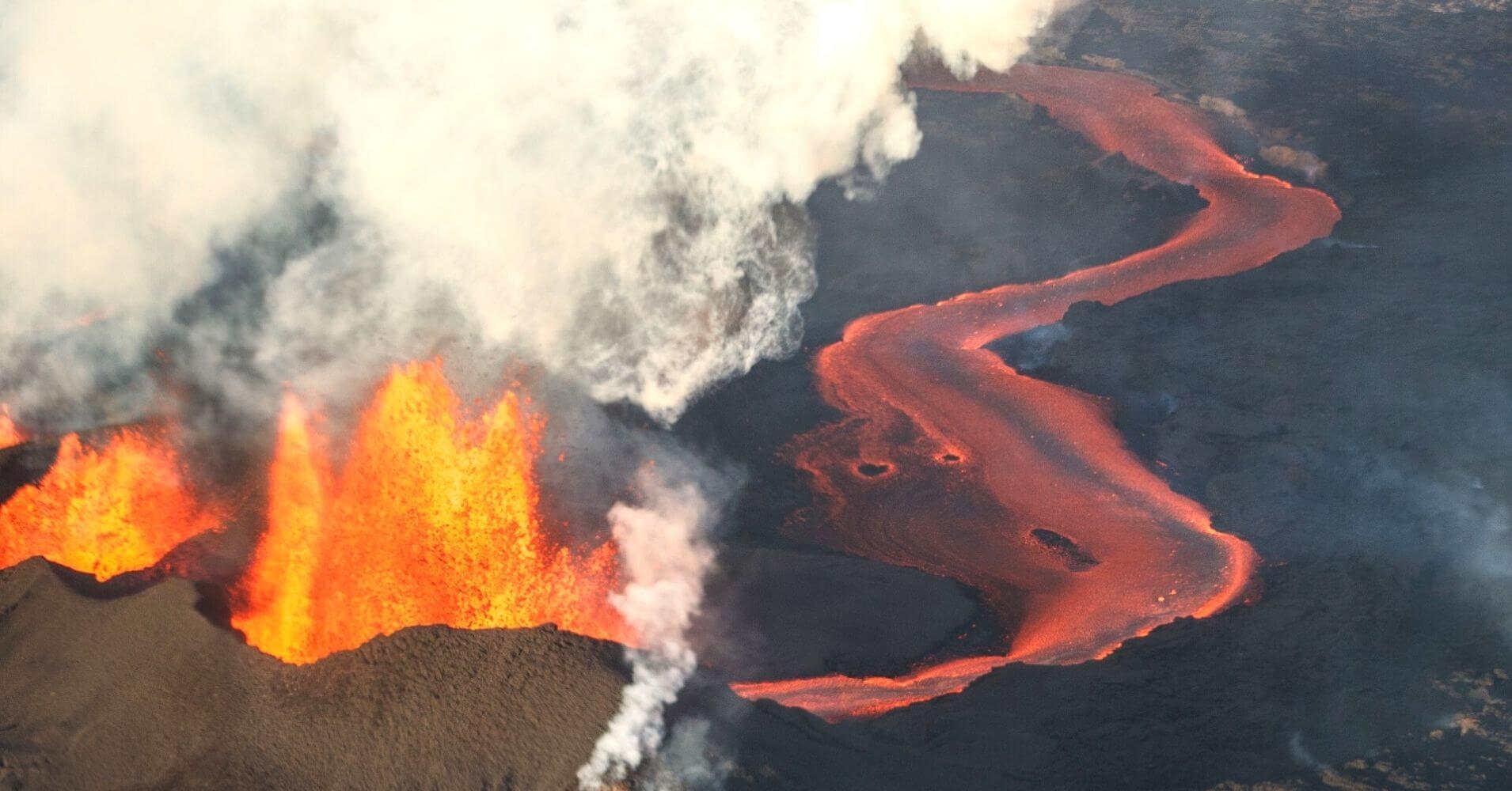Volcán Barðarbunga. Norðurland Eystra. Islandia.