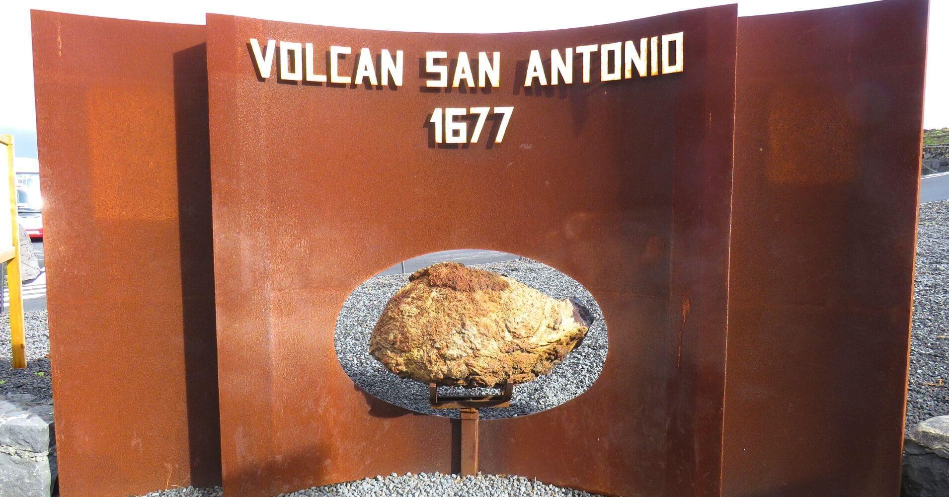 Volcán de San Antonio. La Palma, Islas Canarias.