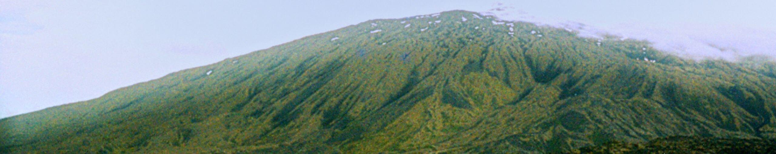 Volcán Snaefells Snæfellsjökull. Vesturland, Islandia.