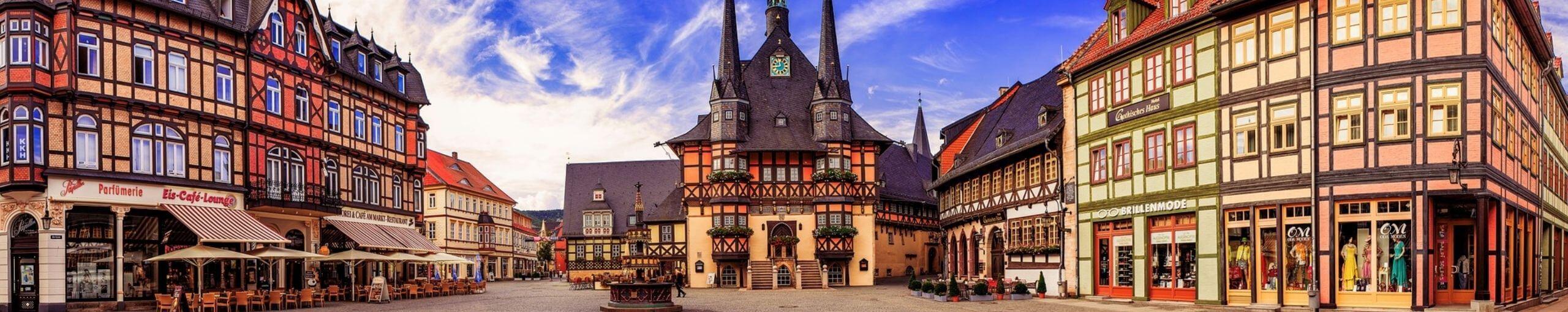 Wernigerode. Distrito de Harz, Sajonia-Anhalt. Alemania.